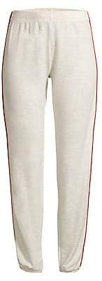 Monrow Women's Side Striped Sweatpants