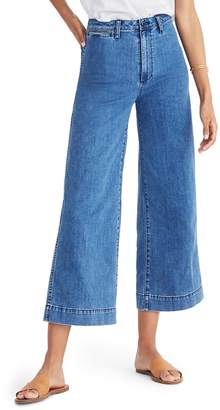Madewell Emmett Crop Wide Leg Jeans