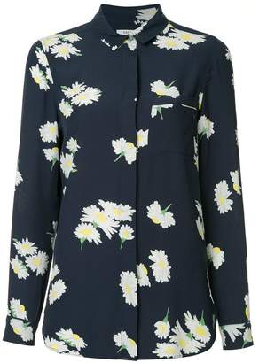 Ganni floral pajama shirt