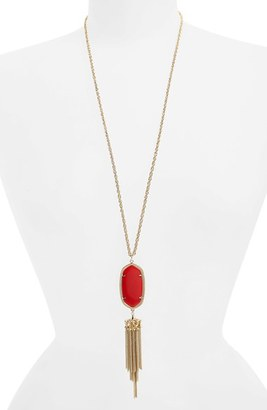 Women's Kendra Scott 'Rayne' Tassel Pendant Necklace $80 thestylecure.com