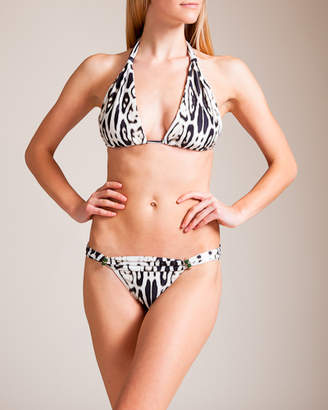 Lenny Niemeyer Swimwear Lycra Adjustable Halter Bikini