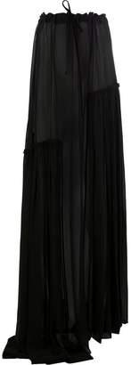 Ann Demeulemeester asymmetric long skirt