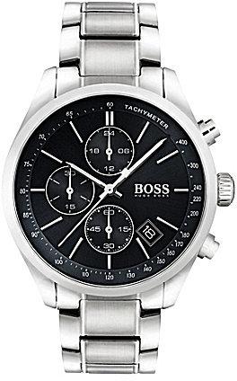 Hugo BossBOSS Hugo Boss Grand Prix Chronograph & Date Bracelet Watch