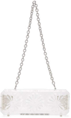 Y/Project Transparent Crystal Chain Clutch