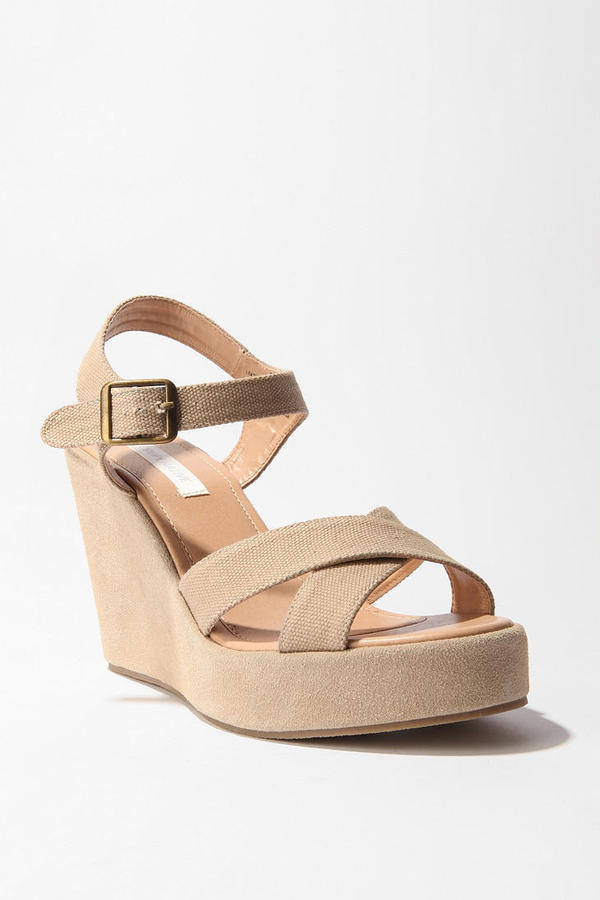 Cooperative Canvas Strap Wedge