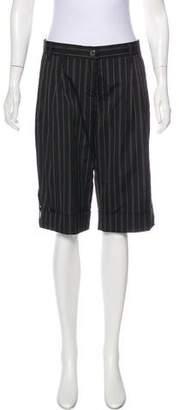 Dolce & Gabbana Pinstripe Knee-Length Shorts