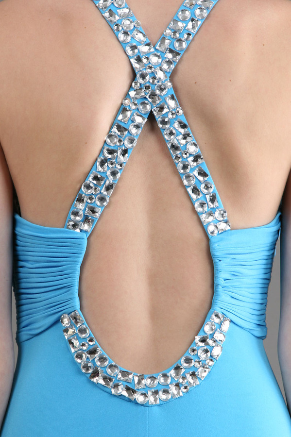 Scala Jersey with Crystal Cross Halter