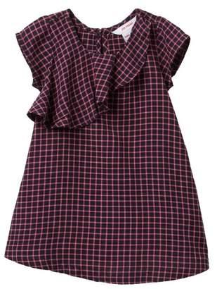 Joe Fresh Plaid Dress (Baby Girls)