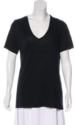Etoile Isabel Marant V-Neck Short Sleeve T-Shirt