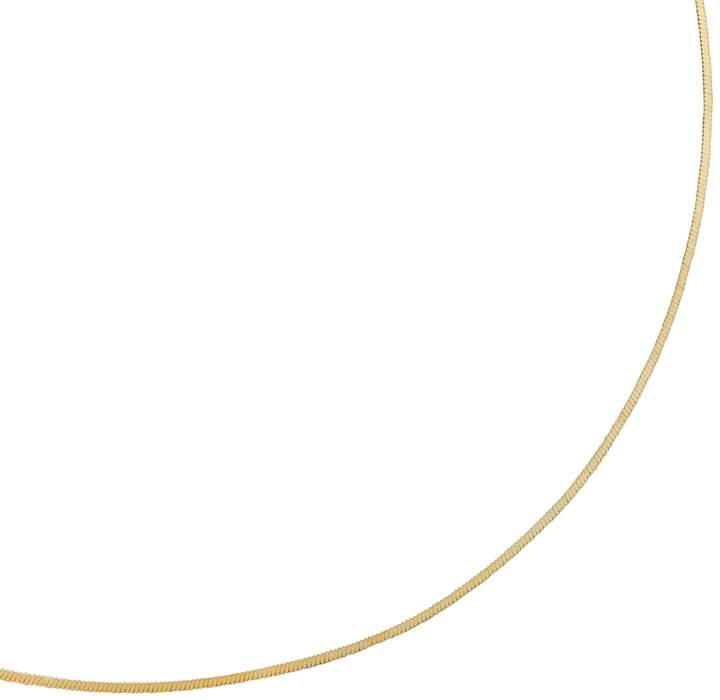 Kohl's 24k Gold-Over-Silver Snake-Chain Necklace