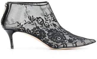 Christopher Kane plastic lace ankle boot