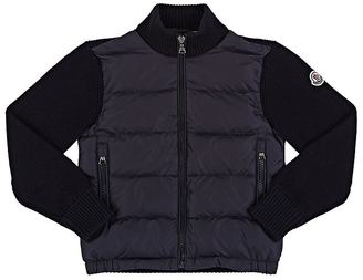 Moncler Down-Quilted Zip-Front Cardigan $295 thestylecure.com