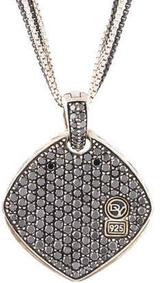David Yurman Diamond Reversible Pendant Necklace