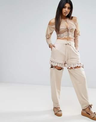 Puma X Fenty Suspenders Pant $269 thestylecure.com
