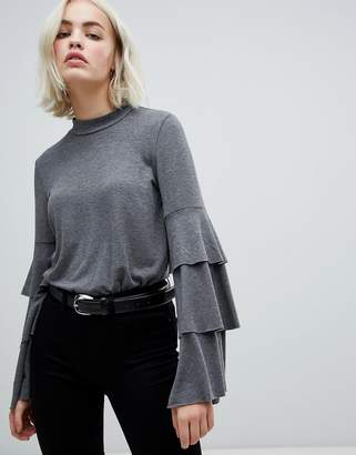 Only Frill Bell Sleeve Top