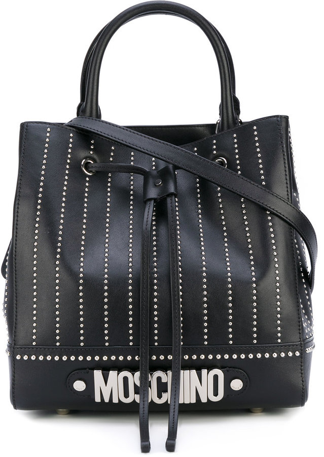 Moschino Moschino embroidered tote