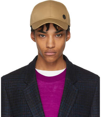 Paul Smith Tan Basic Baseball Cap