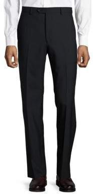 Lauren Ralph Lauren Wool-Blend Flat-Front Pants