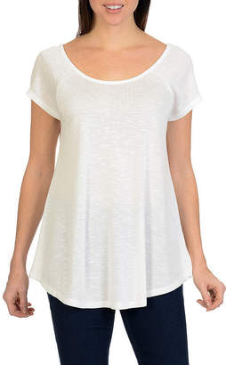 Larry Levine Cap Sleeve Top