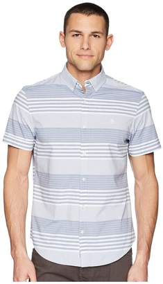 Original Penguin Short Sleeve Stripe on Stretch Men's T Shirt