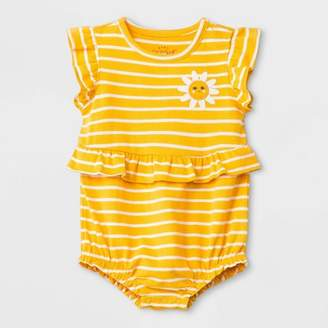 Cat & Jack Baby Girls' Romper and Jumpsuit Yellow