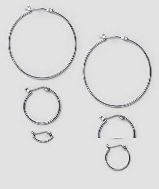 Pieces Belinda Hoop Multipack Earrings