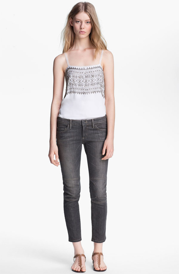 L'Agence Beaded Camisole