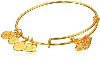 Alex and Ani Charity By Design Hermit Crab Expandable Gold-Tone Bangle Bracelet