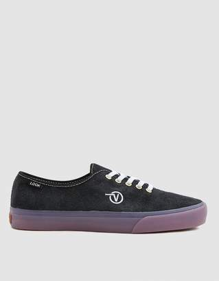 Vans Vault By LQQK Authentic One Sneaker in Black/Translucent Gum