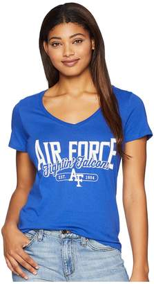 Champion College Air Force Falcons University V-Neck Tee Women's T Shirt