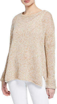 525 America Oversized Crewneck Cotton Sweater