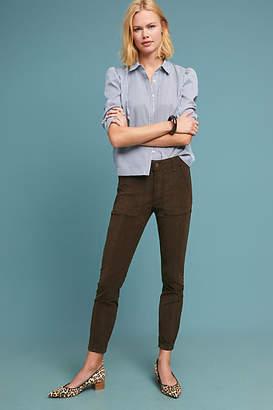 Anthropologie Corduroy Slim Utility Pants