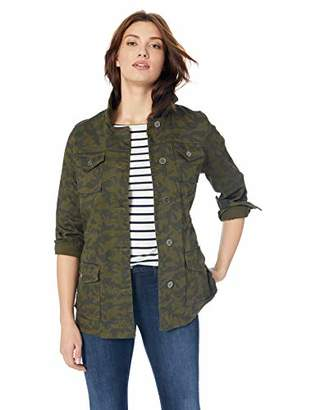 Skye's the Limit Women's Camouflage Cargo Jacket
