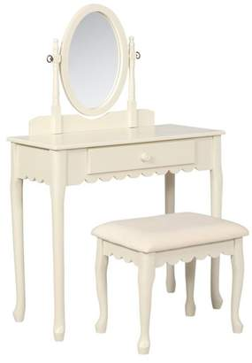 Linon Home Ellie Youth Vanity Set