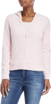 Juicy Couture Robertson Zip Velour Hoodie