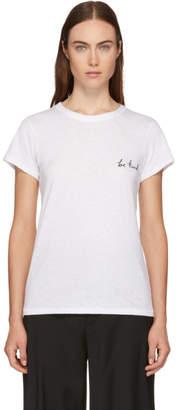 Rag & Bone White Be Kind T-Shirt