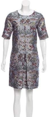 Odeeh Jacquard Mini Dress w/ Tags