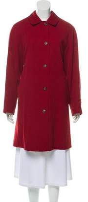 Burberry Double-Lined Wool Coat