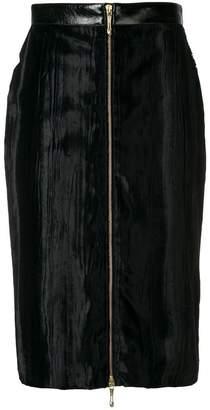 Just Cavalli zipped pencil skirt