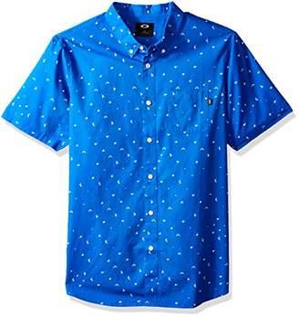 Oakley Men's Splash Short Sleeve Woven Shirt