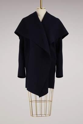 Harris Wharf London Blanket Coat Boiled Wool