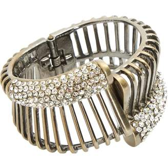 Vionnet Brown Metal Bracelets