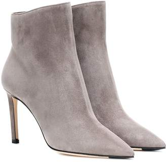 Jimmy Choo Helaine 85 suede ankle boots