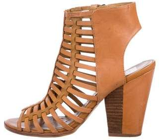 Dolce Vita Leather Caged Sandals