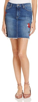 Mavi Melody Embroidered Denim Skirt - 100% Exclusive $98 thestylecure.com