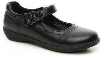 Fallon French Toast Toddler & Youth Mary Jane Flat - Girl's