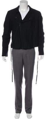 Ann Demeulemeester Fleece Wool Jacket