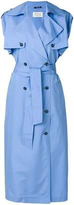 Maison Margiela sleeveless trench coat