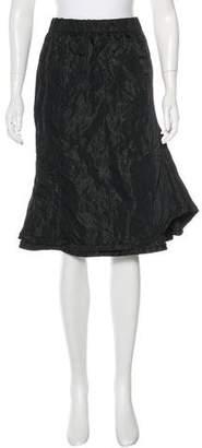 Nina Ricci Textured Flounce Skirt