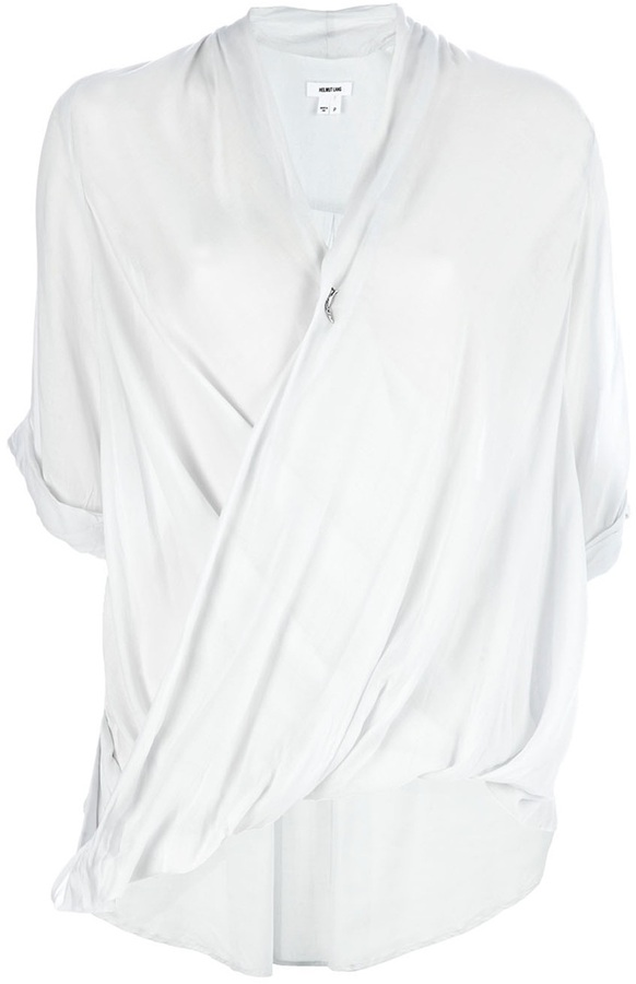 Helmut Lang Draped blouse
